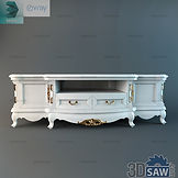 3ds Max Classic TV Stand Shelf Cabinet - Free 3d Models Download - 3DSAW.COM