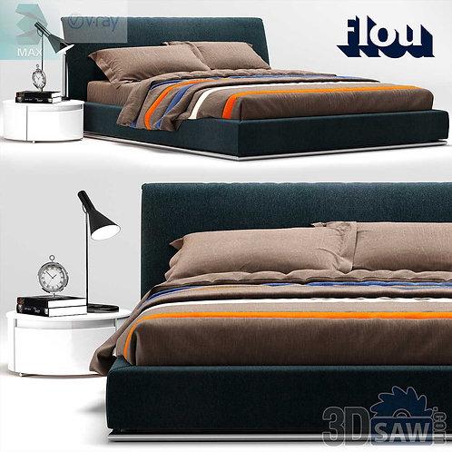 Bed Model - Bedroom Item Decor - MX-0000100