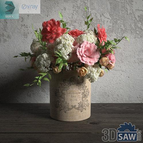 Flower Vase - Interior Plants - Planter - Plant - MX-674