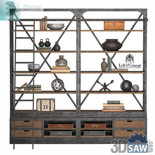 Wardrobe - Display Cabinets - Shelf - Sideboards - MX-736