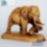 3ds Max Wood Elephant Statue Sculpture - Decoration Items - Free 3d Models Download - 3DSAW.COM