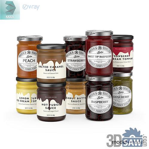 3ds Max Sauce Bottle  - Kitchen Items - 3d Model Free Download