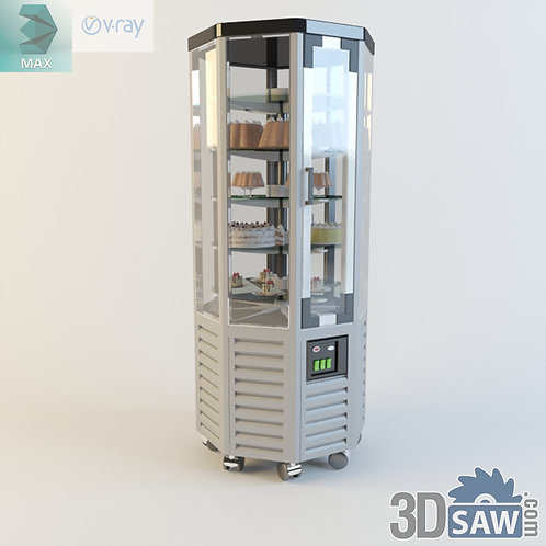 Bakery Display Case - Shop Furniture - MX-843
