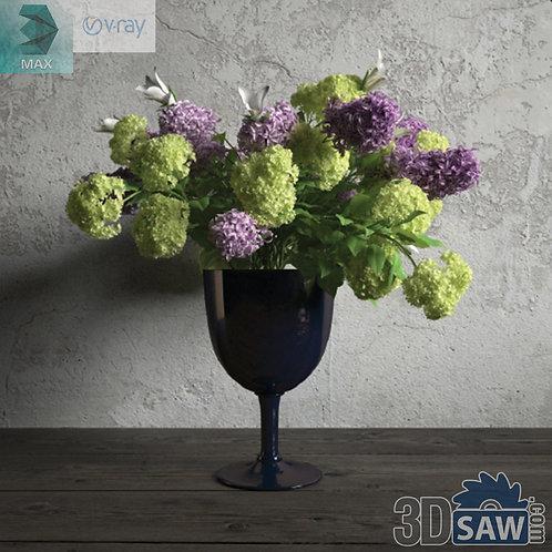 Flower Vase - Interior Plants - Planter - Plant - MX-662