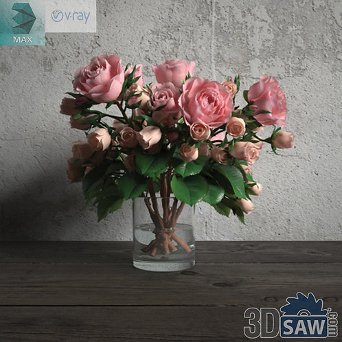 Flower Vase - Interior Plants - Planter - Plant - MX-667