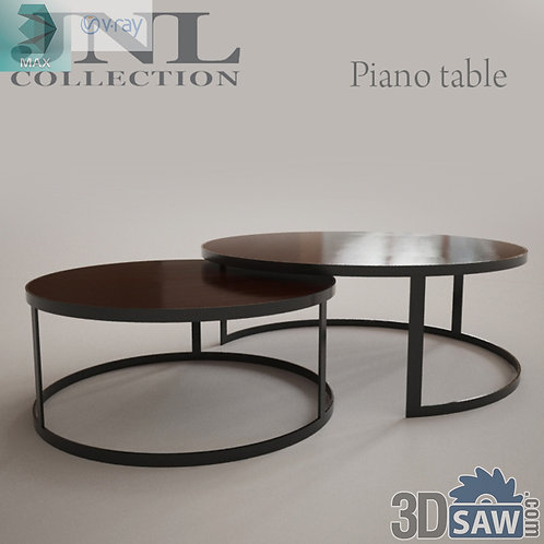 3ds Max Table Model - 3d Model Free Download - MX-1202