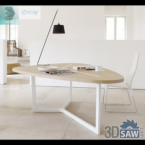 3ds Max Table Model - 3d Model Free Download - MX-1228