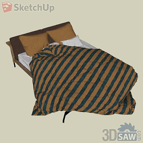 Bed - Bedroom Item Decor - SU-0000030