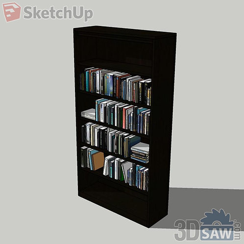 Bookshelf - Pack Books - Magazines - SU-0000082