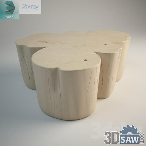 Table Model - Table Solid Wood - MX-580