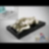 3ds Max Bulldog Sculpture Figure Statue - Decoration Items - Free 3d Models Download - 3DSAW.COM