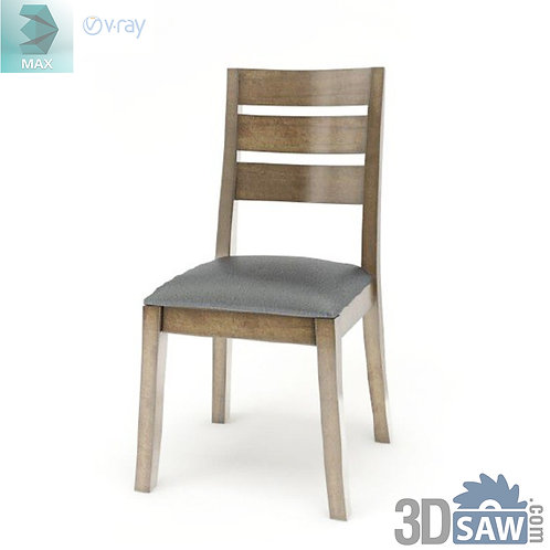 3ds Max Chair Model - 3d Model Free Download - MX-966