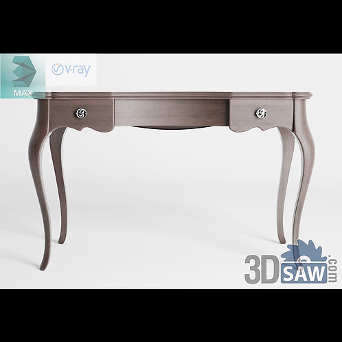 3ds Max Table Model - 3d Model Free Download - MX-1242