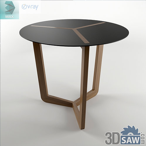3ds Max Table Model - 3d Model Free Download - MX-1206