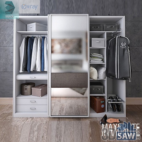 Wardrobe - Display Cabinets - Shelf - Sideboards - MX-686