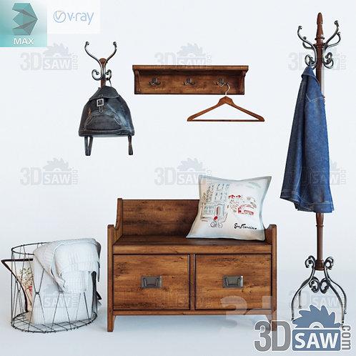 Buffet Cabinet - Interior Decor - Chair - Clothes Rack - MX-0000336
