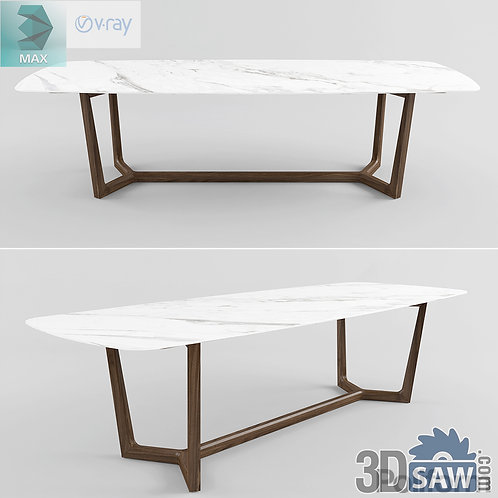 3ds Max Table Model - 3d Model Free Download - MX-1085