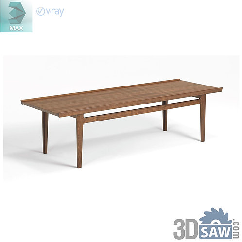 3ds Max Table Model - 3d Model Free Download - MX-952