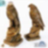 3ds Max Eagle Hawk Statue Sculpture Pet - Animals - Free 3d Models Download - 3DSAW.COM