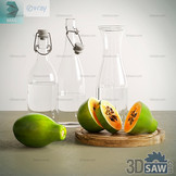 3ds Max Fruit - Papaya - Free 3d Models Download - 3DSAW.COM