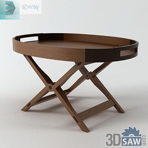 Table Model - Gaivota Sidetable - MX-0000134