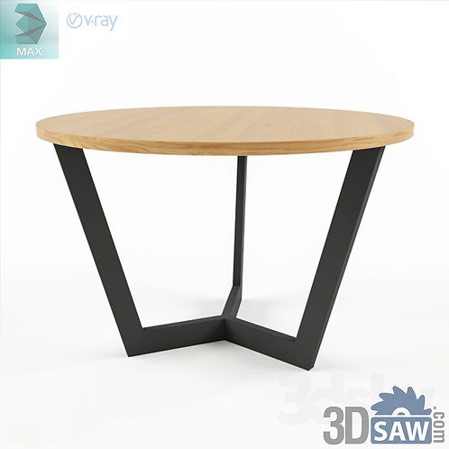 3ds Max Table Model - 3d Model Free Download - MX-1224