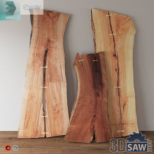 Wooden Table Slab - Table Solid Wood - MX-596