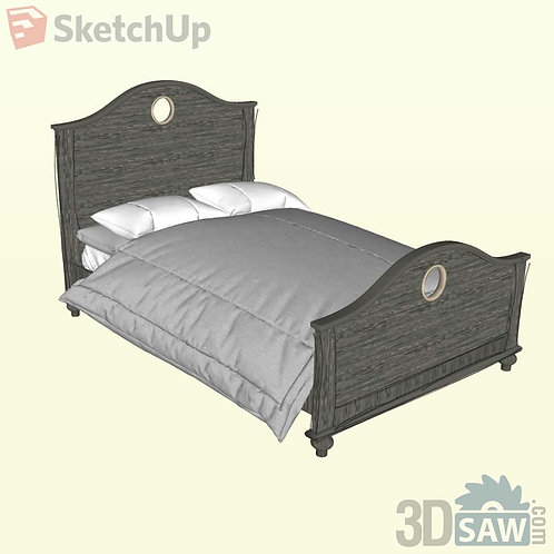 Bed - Bedroom Item Decor - SU-0000012