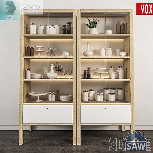 Wardrobe - Display Cabinets - Shelf - Sideboards - MX-719
