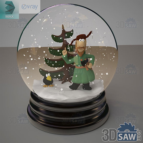 Christmas Decor - Glass Ball - MX-0000224