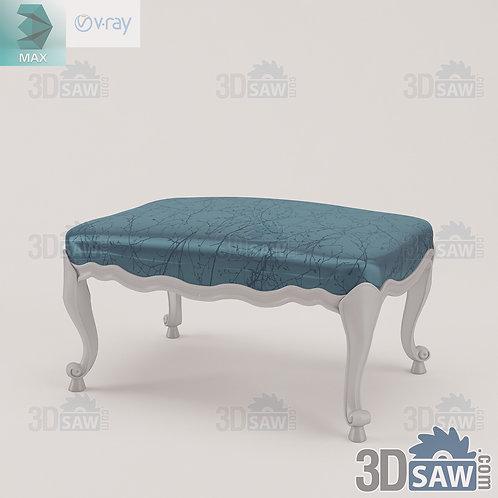 Pouf - Baroque Decor - Vintage Furniture - MX-0000387