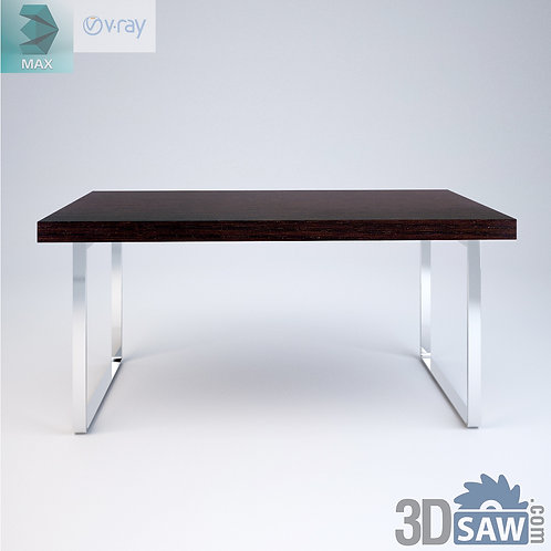 3ds Max Table Model - 3d Model Free Download - MX-959