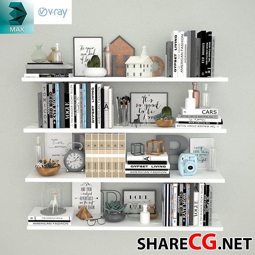 Books Decorative Set - Living Room Decor - MX-0000032