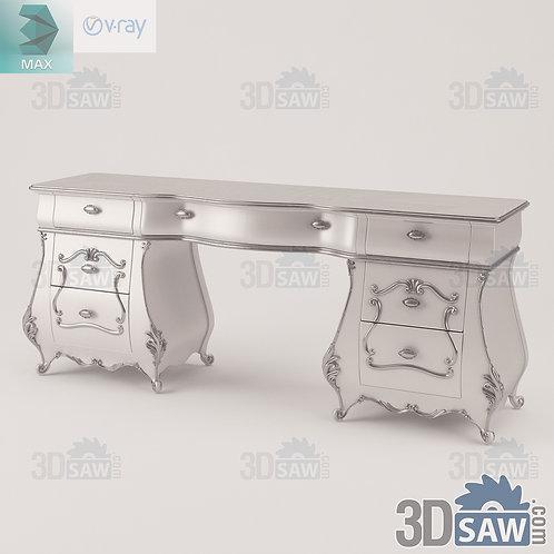 Toilet Table - Comodino - Baroque Decor - MX-0000371
