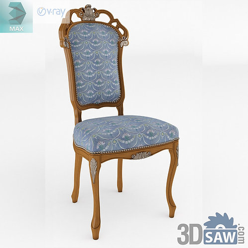 Chair - Baroque Decor - Vintage Furniture - MX-529