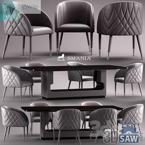 Table And Chairs Set - MX-0000288