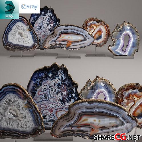 Agate Decoration Items - MX-0000053