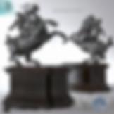 3ds Max Ride Horse Sculpture Figure Statue - Decoration Items - Free 3d Models Download - 3DSAW.COM