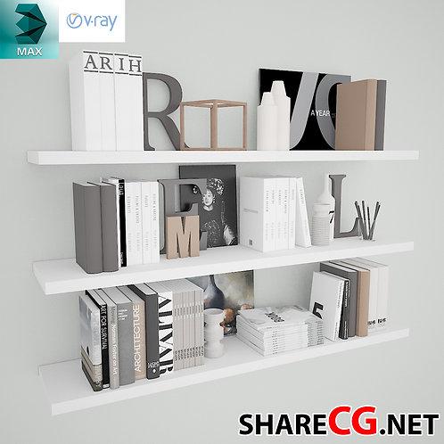 Books Decorative Set - Living Room Decor - MX-0000031