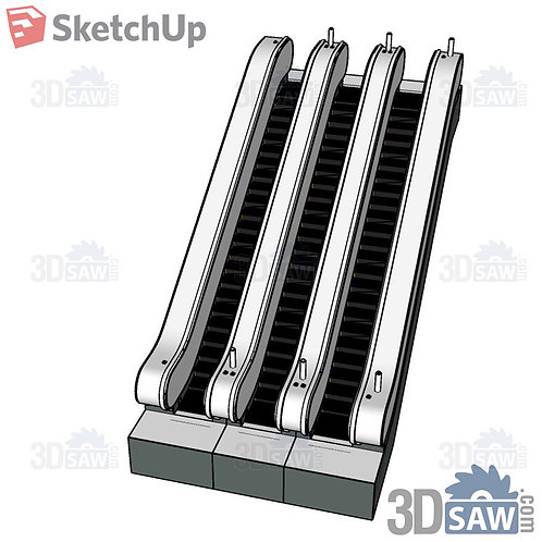 Stairs - Ladder - Escalator - SU-0000184