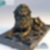 3ds Max Lion Statue Sculpture - Decoration Items - Free 3d Models Download - 3DSAW.COM