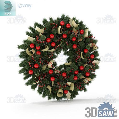 Christmas Decor - Wreath - MX-0000252