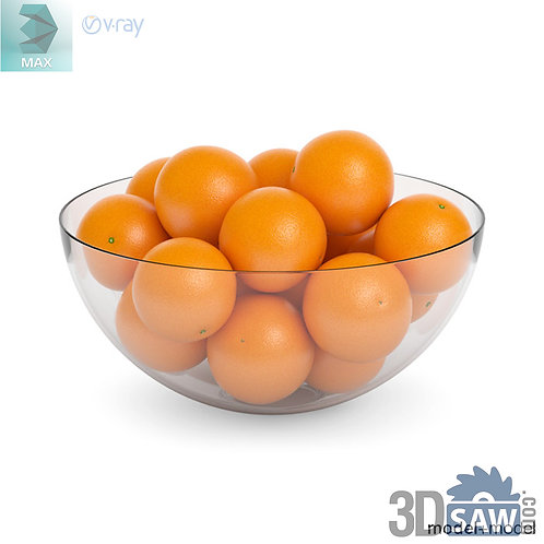 3ds Max Orange - Kitchen Items - 3d Model Free Download