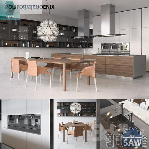 Kitchen Cabinets Casework - Kitchen Room Design - MX-641
