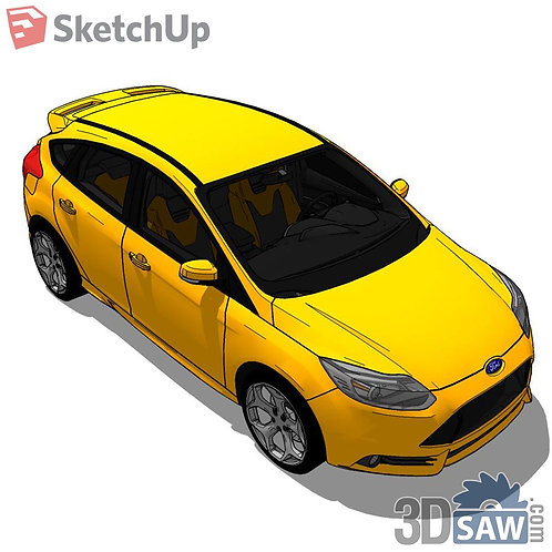 Car Vehicle Models - Ford Focus - SU-0000160