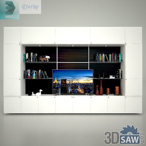 Wardrobe - Display Cabinets - Shelf - Sideboards - MX-729