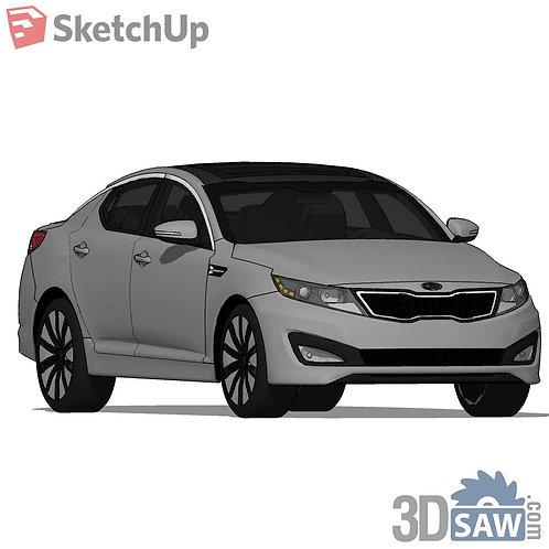 Car Vehicle Models - KIA Optima SX - SU-0000136