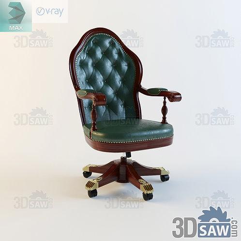 Office Armchair - Baroque Decor - Vintage Furniture - MX-0000362