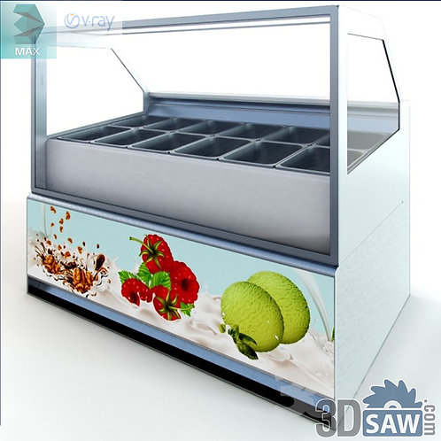 Food Display Case - Hot Food Bar - Shop Furniture - MX-858