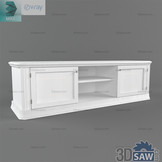 3ds Max TV Stand Shelf Cabinet - Free 3d Models Download - 3DSAW.COM